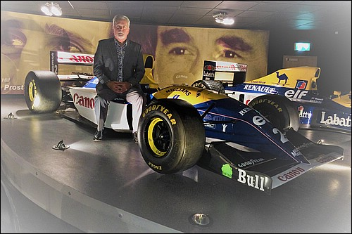 Richard with the all conquering 1993 Williams FW15C