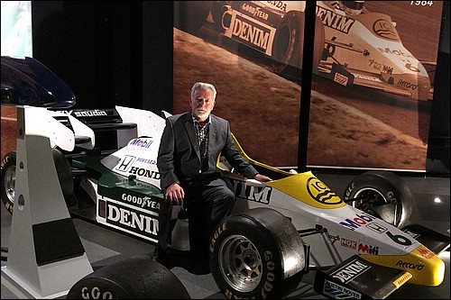 Richard with Keke Rosbergs Dallas Grand Prix winning Williams FW09