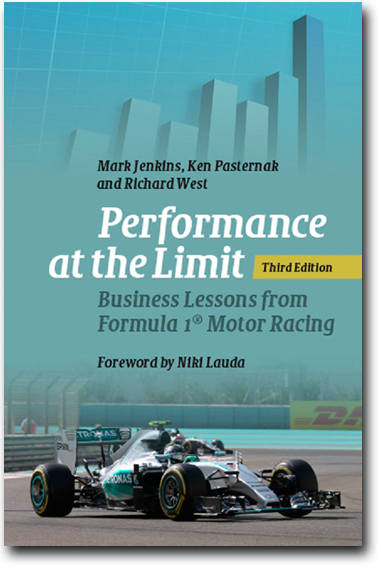 Performance at the Limit Business Lessons from Formula 1, book cover